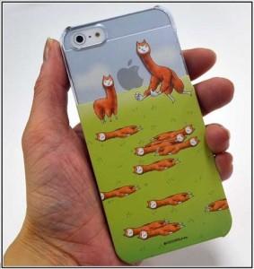 アルパカにいさんiPhoneケース