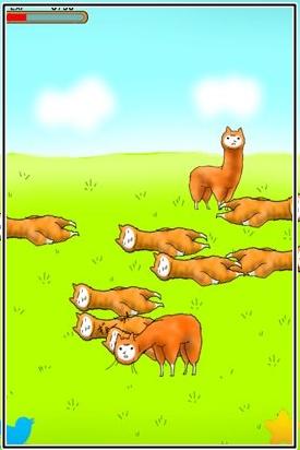 アルパカにいさん 進化レベル1